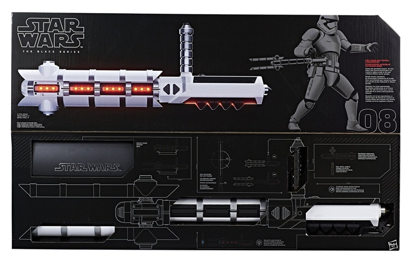 Star Wars The Black Series Force FX Riot Trooper Baton